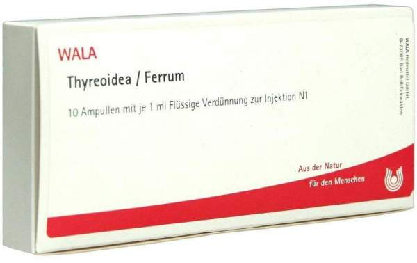 Thyreoidea Ferrum Ampullen 10 X 1 ml