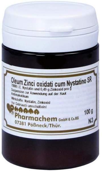 Oleum Zinci Oxidati Cum Nystatino Sr 100g Öl