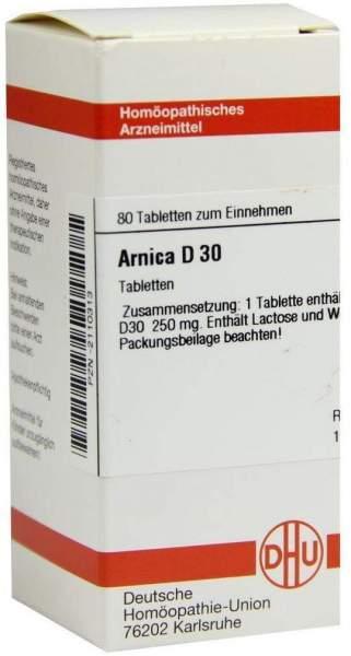Arnica D 30 80 Tabletten