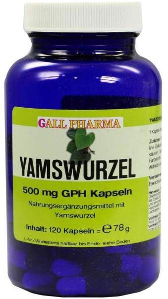 Yamswurzel 500 mg Gph 120 Kapseln