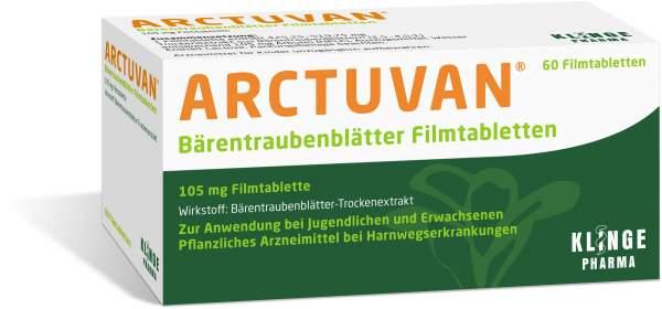 Arctuvan Bärentraubenblätter 60 Tabletten