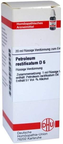 Dhu Petroleum Rectificatum D6 20 ml Dilution