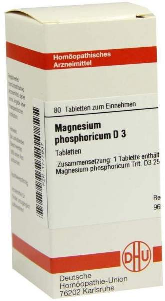 Magnesium Phosphoricum D3 Tabletten 80 Tabletten