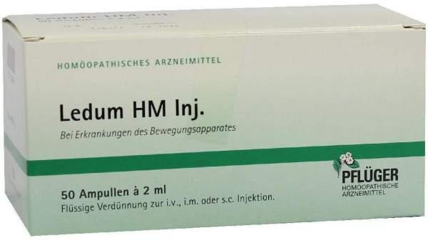 Ledum Hm Injekt 50 Ampullen
