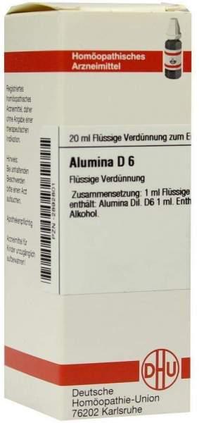 Alumina D6 Dhu 20 ml Dilution