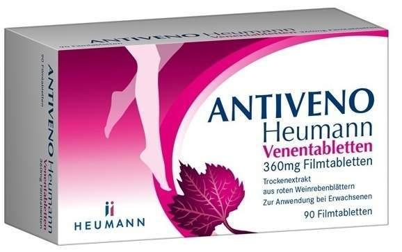 Antiveno Heumann Venentabletten 360 mg 90 Filmtabletten