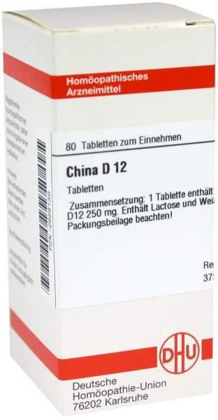 China D12 80 Tabletten