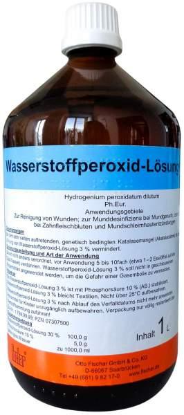 Wasserstoffperoxid Loesung 3% Ph. Eur. 1000 ml
