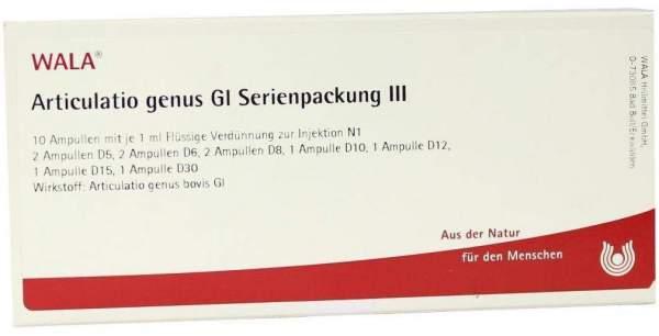 Articulatio Genus Gl Serienpackung 3 Ampullen