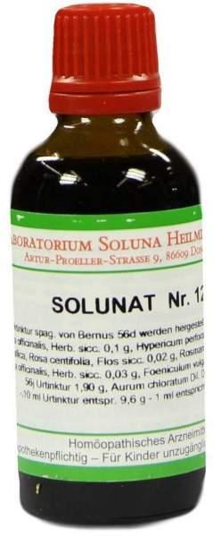 Solunat Nr.12 50 ml Tropfen
