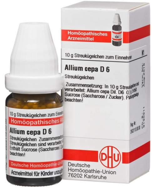 Allium Cepa D 6 10 G Globuli