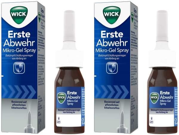 WICK erste Abwehr 2 x 15 ml Nasenspray