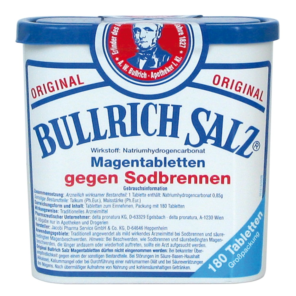 Bullrich Salz Schwangerschaft