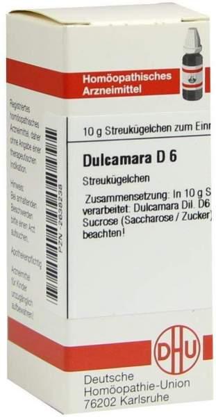 Dulcamara D6 Globuli 10 G Globuli
