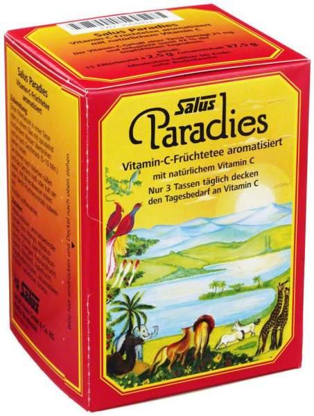 Paradies Vitamin C Früchtetee Beutel Salus