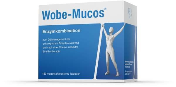 Wobe Mucos 120 Magensaftresistente Tabletten