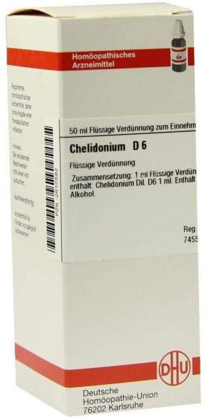 Chelidonium D 6 50 ml Dilution
