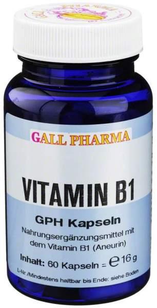 Vitamin B1 Gph 1,4mg Kapseln 60 Kapseln