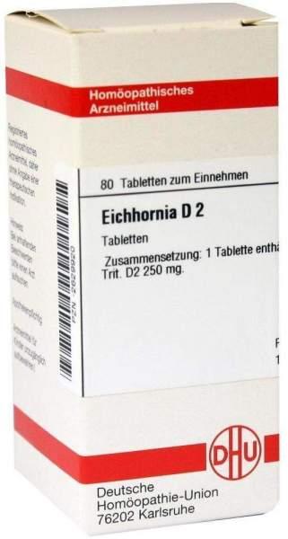 Eichhornia D2 80 Tabletten