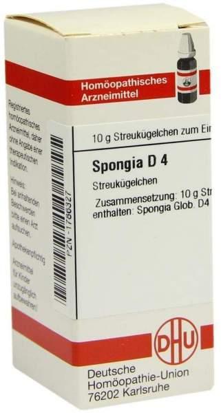 Spongia D4 10 G Globuli