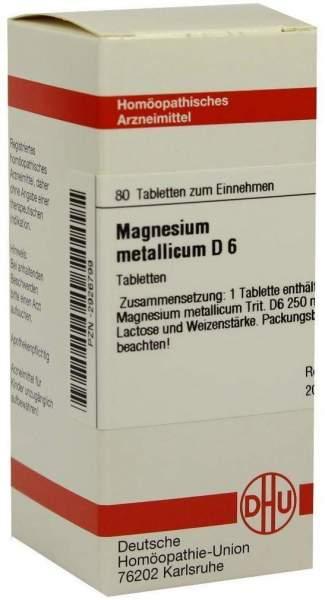 Magnesium Metallicum D6 80 Tabletten