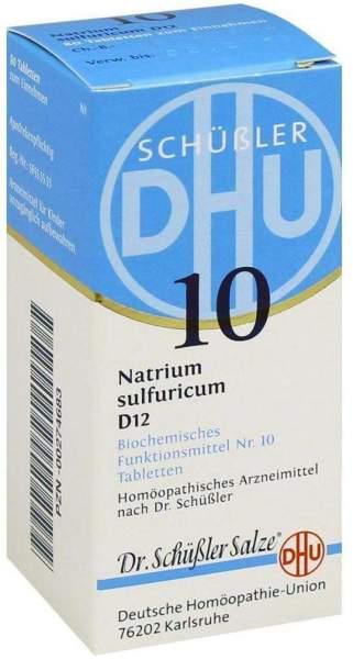 Biochemie Dhu 10 Natrium Sulfuricum D12 80 Tabletten