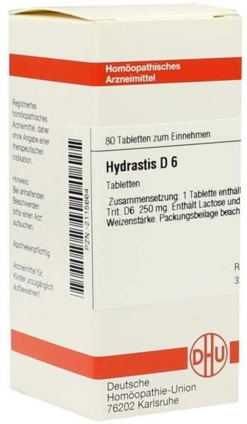 Hydrastis D 6 80 Tabletten