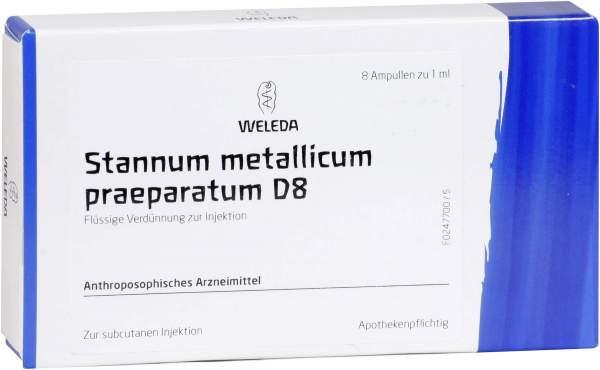 Weleda Stannum Metallicum Praeparatum D8