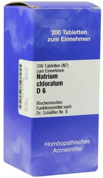 Biochemie Iso 8 Natrium Chloratum D6 200 Tabletten
