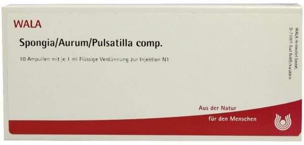 Spongia Aurum Pulsatilla Comp. Ampullen