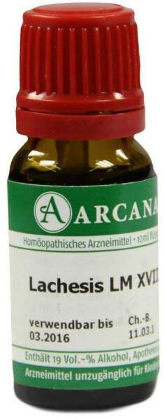 Lachesis Lm 18 Dilution 10 ml