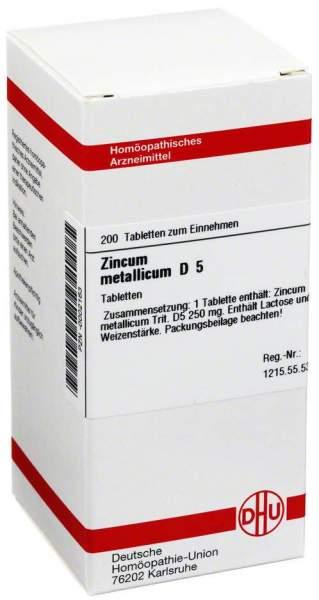 Zincum Metallicum D 5 200 Tabletten
