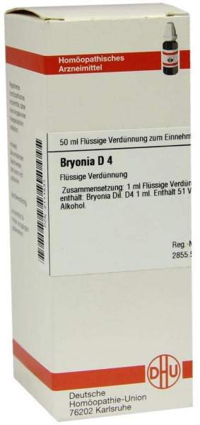 Bryonia D 4 50 ml Dilution