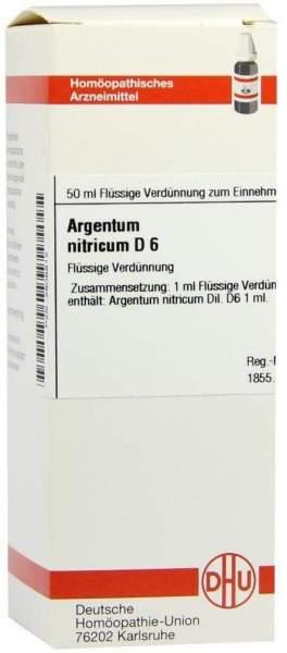 Argentum Nitricum D6 50 ml Dilution