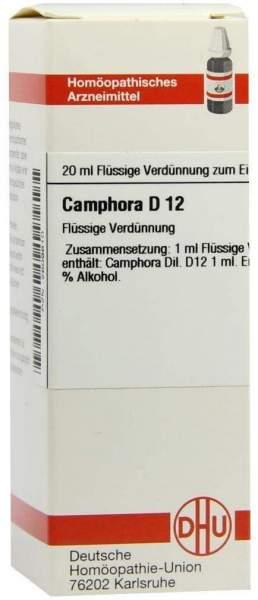 Camphora D 12 Dilution