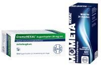 Sparset Allergie Cromohexal 10 ml Augentropfen + Mometahexal Heuschnupfenspray 50 µg 60 Sprühstöße 1