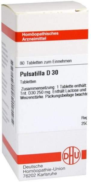 Pulsatilla D30 Tabletten 80 Tabletten