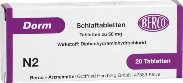 Dorm 20 Tabletten