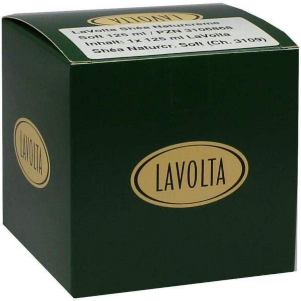 Lavolta Shea Naturcreme Soft 125 ml Creme