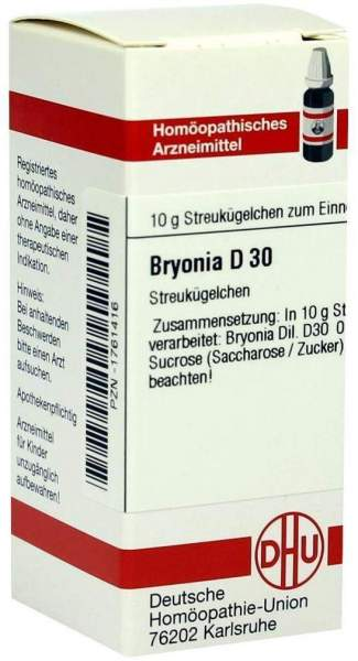 Bryonia D30 10 G Globuli