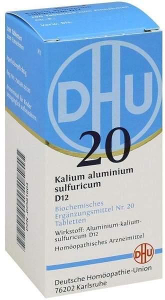 Biochemie Dhu 20 Kalium Aluminium Sulfuricum D12 200 Tabletten