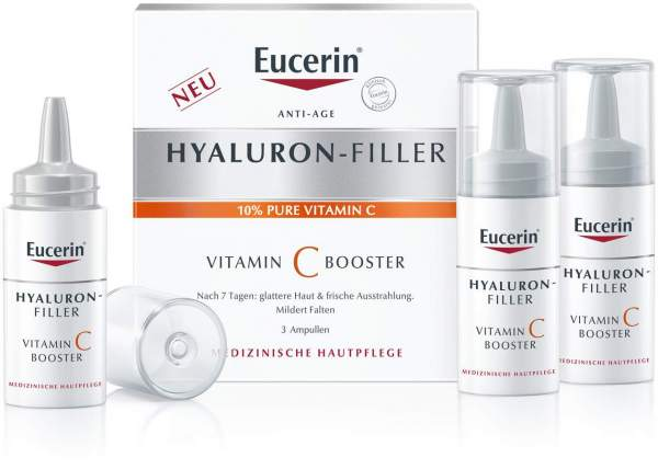 Eucerin Anti Age Hyaluron-Filler Vitamin C Booster 3 x 8 ml