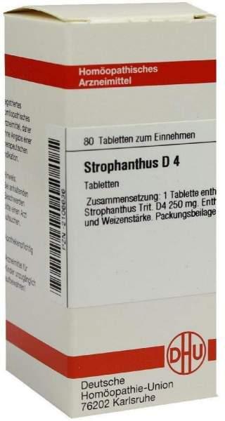 Strophanthus D4 80 Tabletten