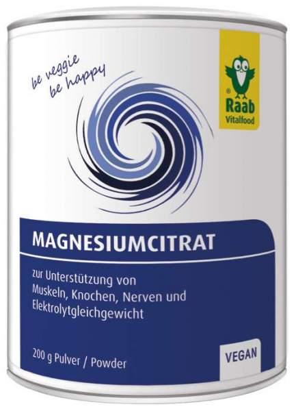 Magnesiumcitrat 200 g Pulver