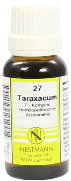 Taraxacum F Komplex 27 20 ml Dilution