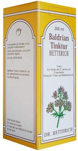 Baldrian Tinktur Hetterich 200ml