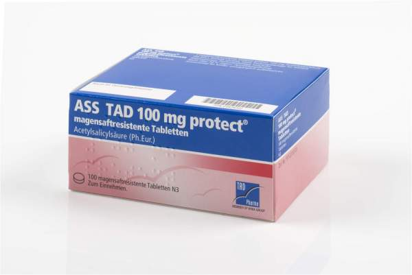ASS TAD 100 mg Protect 100 magensaftresistente Tabletten