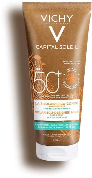 Vichy Capital Soleil feuchtigkeitsspendende Sonnen-Milch LSF 50+ 200 ml