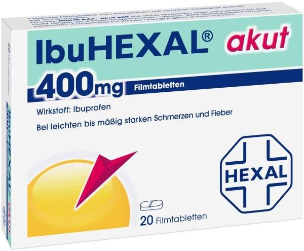 IbuHexal akut 400 mg 20 Filmtabletten