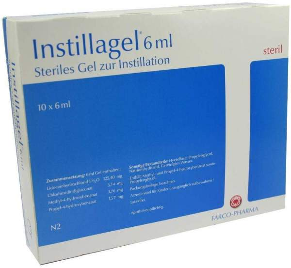 Instillagel 10x6 ml Gel